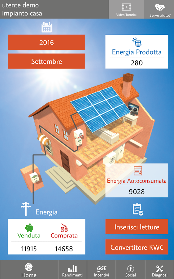 WhatSun l'app del fotovoltaico- screenshot