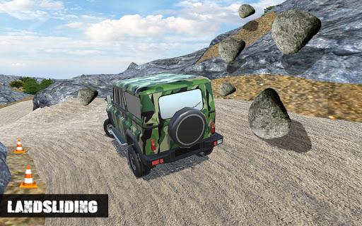 Off-road Army Jeep  captures d'écran 2