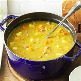 Split Pea Soup with Ham.