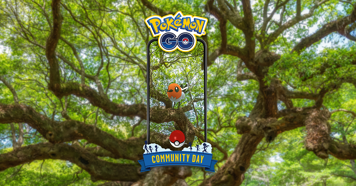 March Community Day's featured Pokémon will be Fletchling!