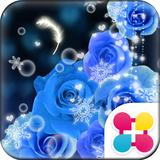 幻想壁紙 Blue Snow Night Icon