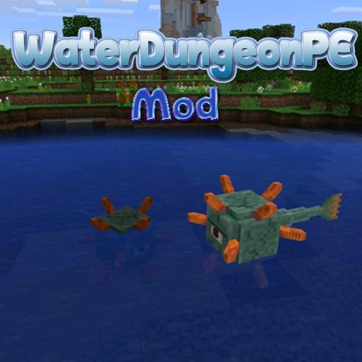 WaterDungeonPE Mod Guide