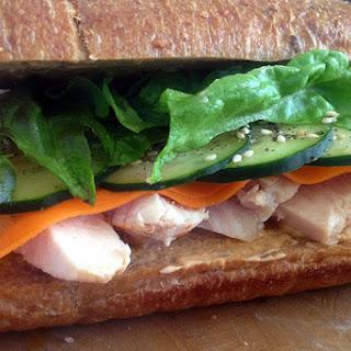 Asian Chicken Sandwich.