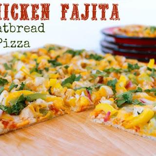 Chicken Fajita Flatbread Pizza.