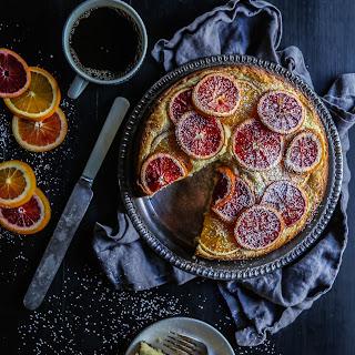 Blood Orange Ricotta Cake Recipe