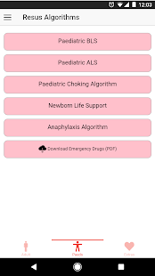 Resus Algorithms 2- screenshot thumbnail