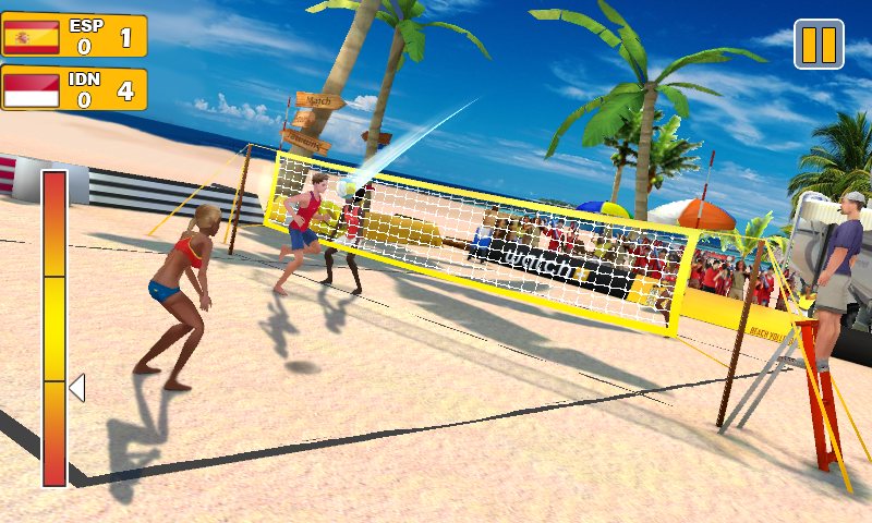 Beach Volleyball 3D- screenshot