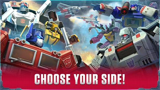 Transformers: Earth Wars Beta  Apk Download For Android and Iphone 7