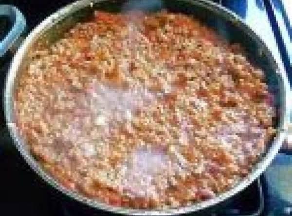 Skillet Chili Recipe