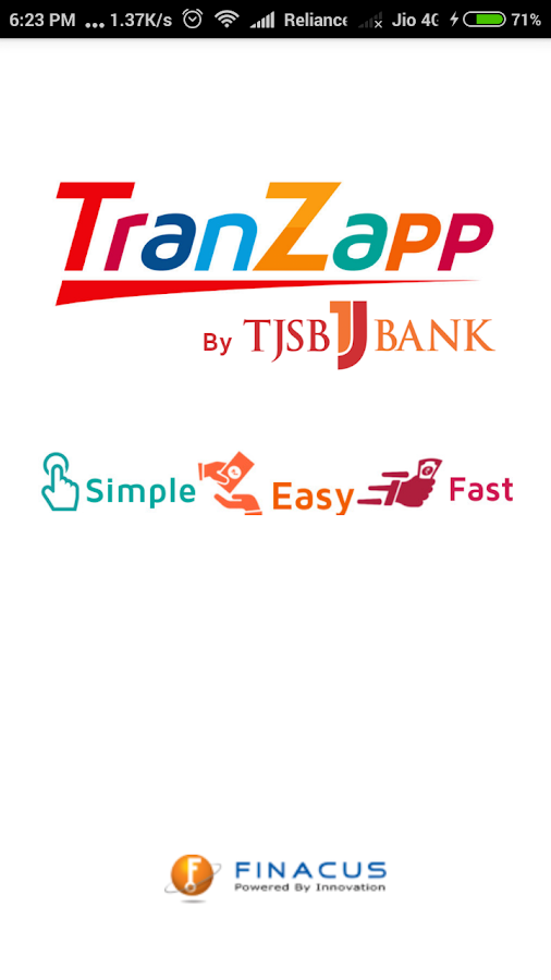 TranZapp - UPI- screenshot