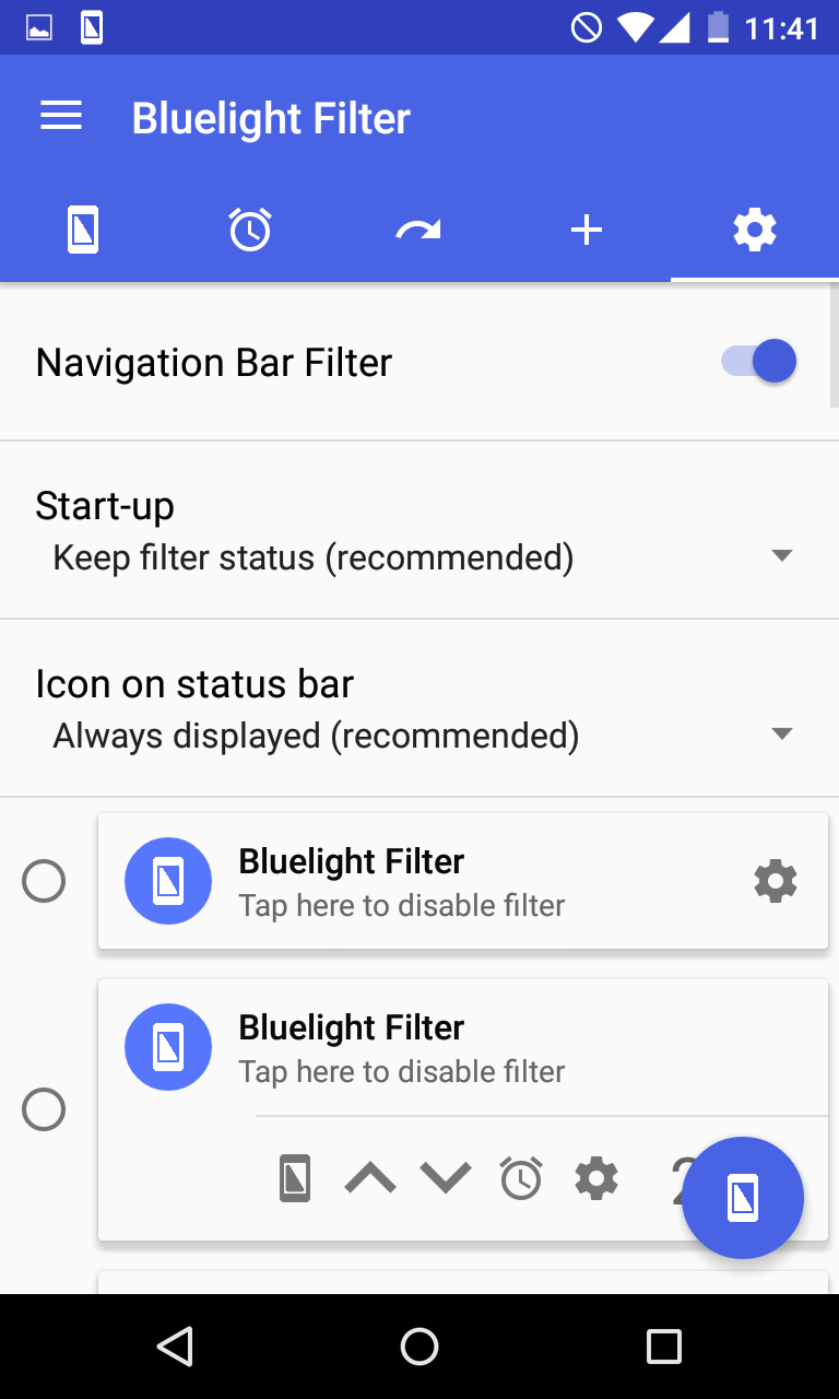 Bluelight Filter for Eye Care Screenshot 5