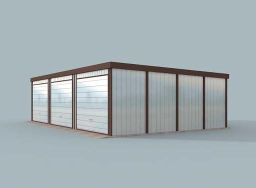 projekt GB27 Garaż Blaszany