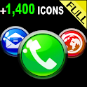 ICON PACK GLOSSY COLORS BUTONS icon