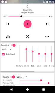 DSP Music Player Pro Screenshot