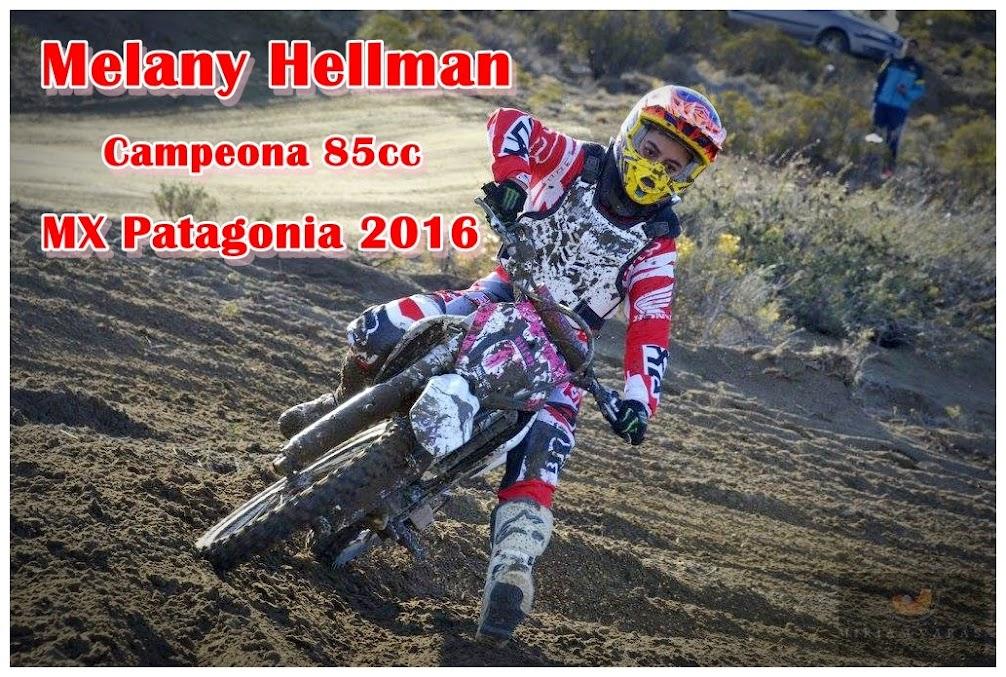 Melany Hellman, nuevamente campeona.
