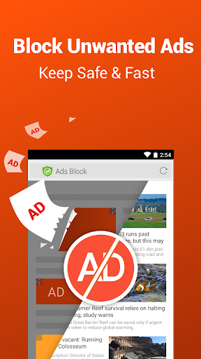 CM Browser - Ad Blocker , Fast Download , Privacy screenshot 1