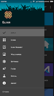 Elixir Icon Pack Screenshot