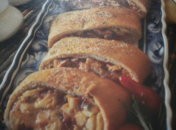 Chicken Parmesan Stromboli Recipe