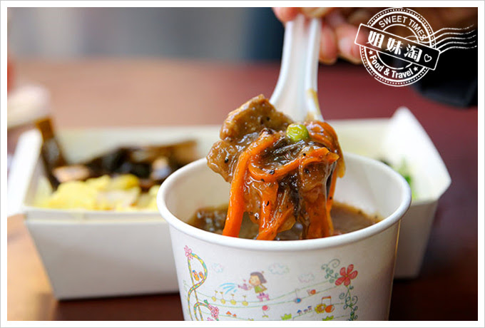 桌上賓中式快餐黑胡椒牛肉飯