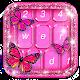 Pink Butterfly Keyboard Theme (app)