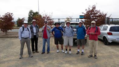 Photo: The guys at Stromlo Forest Park Car Park