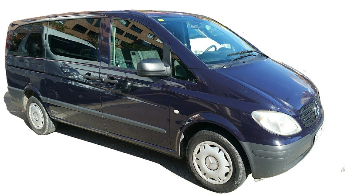 Alquiler de furgoneta Mercedes Vito en Zaragoza y Huesca