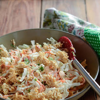 Cabbage Ramen Salad.