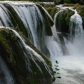 Waterfall by Sibi Sibi - Landscapes Waterscapes ( stream, nature, waterfall, enjoy, river, summer,  )