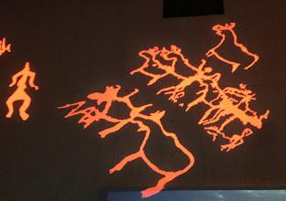 Photo: Taidetta Haltian seinillä