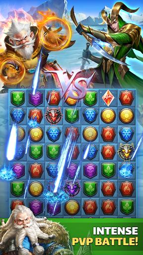 MythWars & Puzzles: RPG Match 3  Wallpaper 12