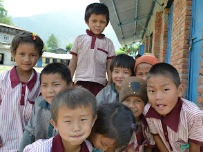 Photo: Thanks to your support, we are working towards our goal to rebuild Shree Taltuleshwory School in Thangpalkot VDC.  A safer school structure and a better learning environment for these children. Yes that is what we want! For donations:  http://cminepal.org/how.php#secFour
