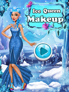 Ice Queen - Beauty Makeup Salon Screenshot