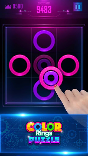 Color Rings Puzzle - screenshot