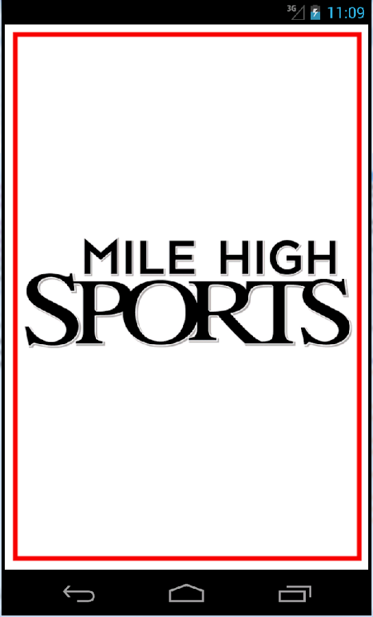 Mile High Sports Radio- screenshot