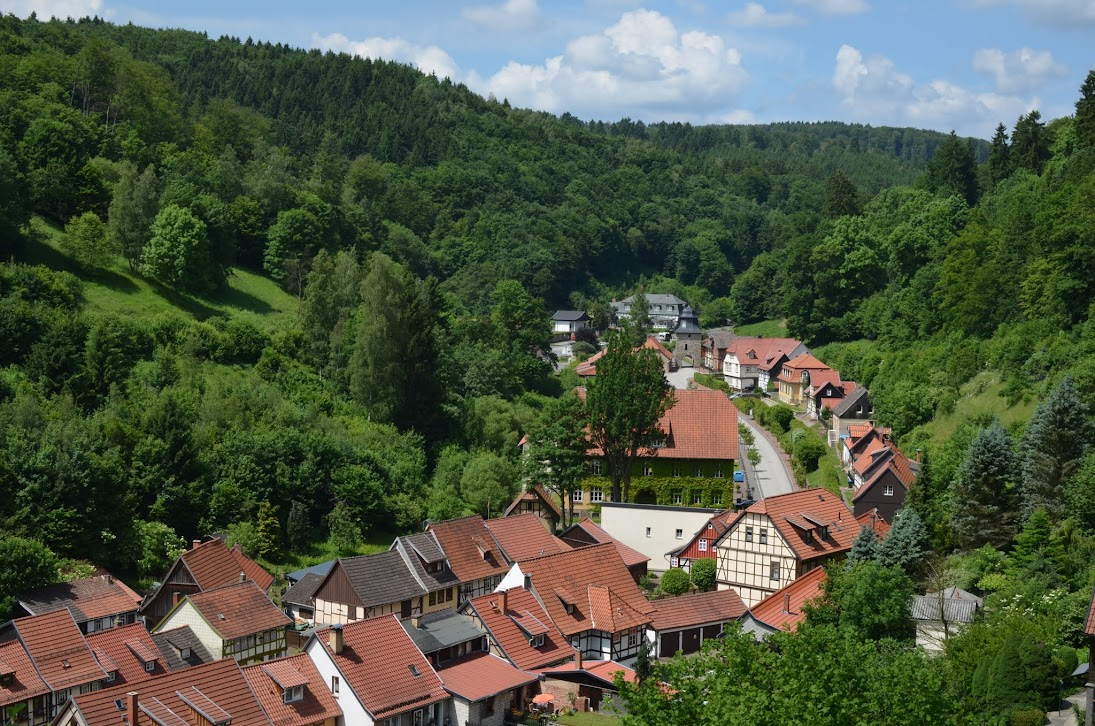 Blick über Stolberg (Harz)