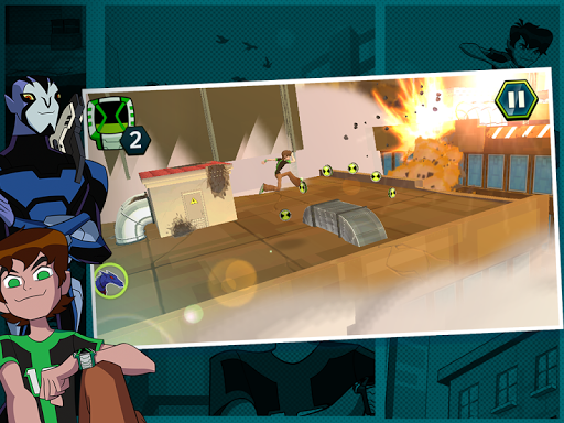 Undertown Chase - Ben 10 v1.1 APK+DATA (Mod)