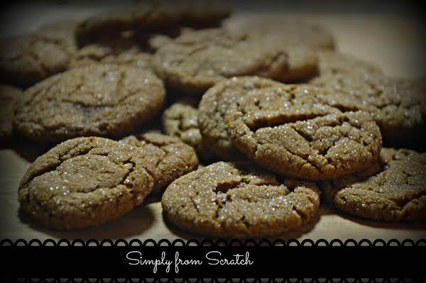 Lizzy's Ginger Molasses Cookies Recipe