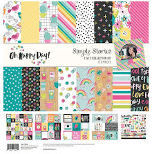 Simple Stories Collection Kit 12X12 - Oh Happy Day UTGÅENDE