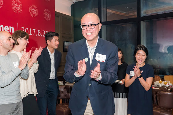 Alumni Association Salutes its New President