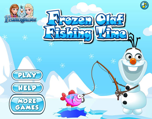 Fishing With Frozen Snowman