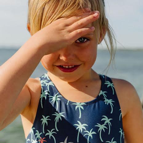 Thyra - Baddräkt till barn, solskyddsfaktor UPF50+