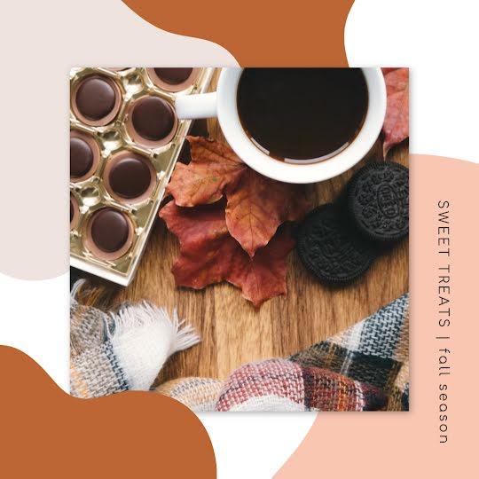 Fall Season Sweet Treats - Instagram Post Template