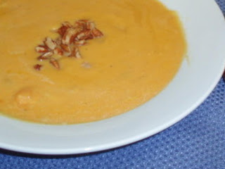 Holiday Sweet Potato Soup Recipe