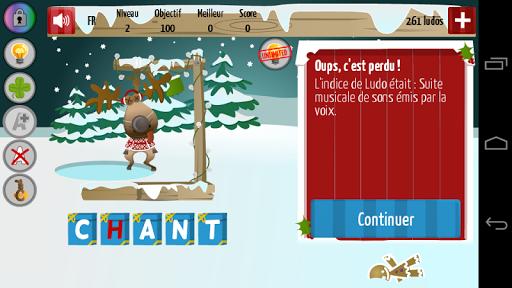 Code Triche Le Pendu Noel APK MOD screenshots 2