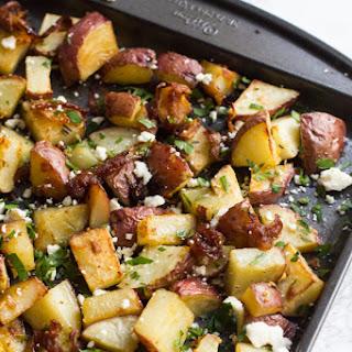 Sheet Pan Roasted Mediterranean Potatoes.