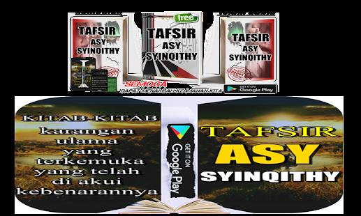 TAFSIR ASY-SYINQITHY - náhled