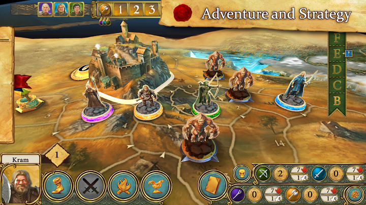 Legends of Andor – The King's Secret Android App Screenshot