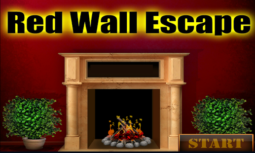 Kavi 16-Red Wall Escape Game - náhled