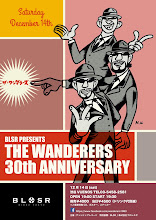 Photo: poster for The Wanderers 30th anniversary.