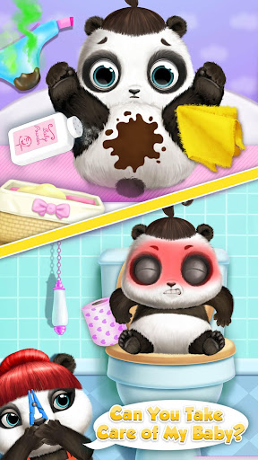 Panda Lu Baby Bear Care 2 - Babysitting & Daycare  screenshots 3